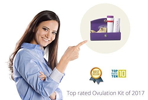 KNOWHEN Advanced Saliva Ovulation Predictor Test Kit with Fertility Monitor App, Reusable Daily with 98.9% Accuracy by Knowhen (Image #5)