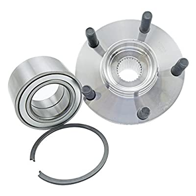 CRS NT518516 New Wheel Bearing Hub Assembly Kit, Front Left (Driver)/ Right (Passenger), for 2000-2004 Infinity I30/ I35, FWD, 2000-2008 Nissan Maxima, 2002-2006 Nissan Altima (1 Piece): Automotive