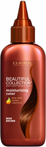 - Clairol Beautiful Collection Hair Color - #175 - Wine Brown 3 oz. (Pack of 6)