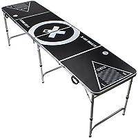 Beer Pong Tisch - Audio Table Design - Beer Pong Table inkl. Ballhalter, 6 Bälle und 2 Gratis Bier Pong Racks