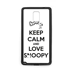 Super Snoopy Unique Printing Skin Shell Pattern Phone Case for SamSung Galaxy Note4,TPU+PC Material Diy Cover Case Note4-linda421