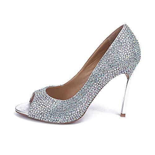 Femmes Heel color à Stiletto Chaussures pour High Hauts Talons Multi wCOAIq