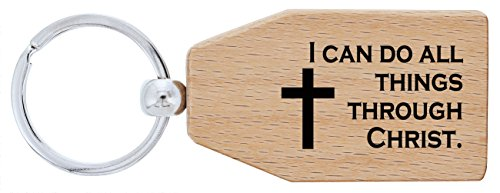 Christian Things Through Christ Keychain