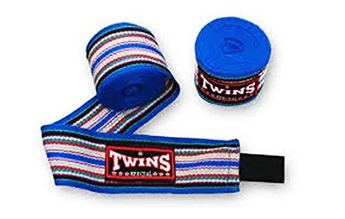 Twins special Cotton Handwraps 4.5m Blue