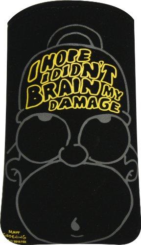 Homer Simpson Mobile - Funda universal para teléfonos móviles, color negro