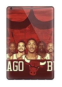 Ipad Cover Case - Sports Nba Chicago Bulls Protective Case Compatibel With Ipad Mini/mini 2