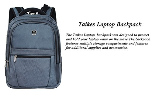Laptop Inch Grey23 To 17 Binlion Taikes Backpack Up 65A4vqw
