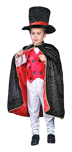 Deluxe Magician Dress up Costume Set - Toddler T4  sc 1 st  Amazon.com & Amazon.com: Deluxe Magician Dress up Costume Set - Toddler T4: Toys ...