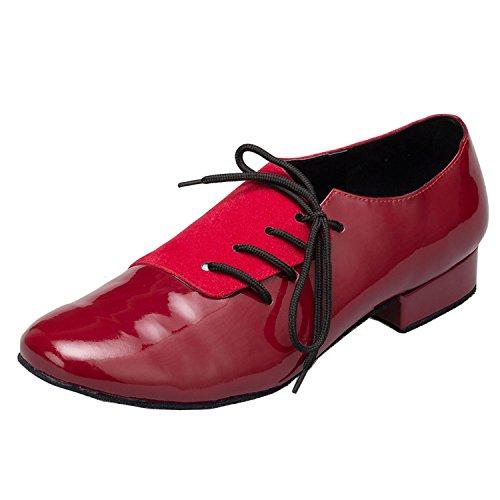 Minitoo ,  Herren Tanzschuhe , Rot - rot - Größe: 42