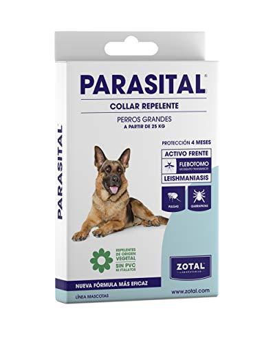 🥇 Zotal – Parasital Collar Antiparasitario de 75 cm para perros grandes