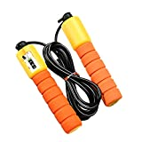 Honey Skipping Ropes with Counter Sport Fitness Adjustable Fast Speed Counting Jump Skip Rope Skipping Thread,4