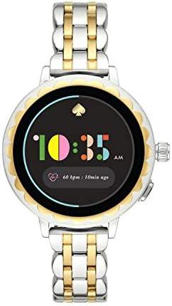 [【タッチスクリーンスマートウォッチ】Scallop KST2012J] スマートウォッチ ケイト・スペード ニューヨーク scallop smartwatch 2 KST2012J レディース シルバー