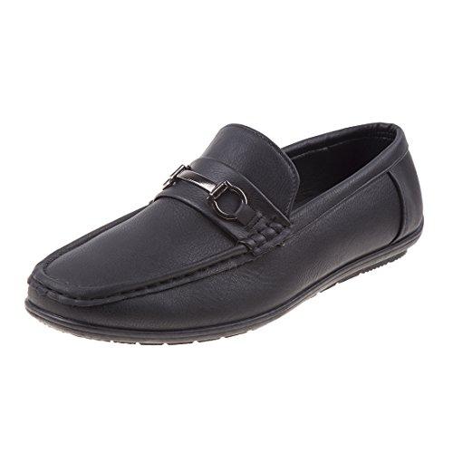 Joseph Allen Men's Slip on Loafer Dress Shoe, Black, 12 D(M) US' by Joseph Allen
