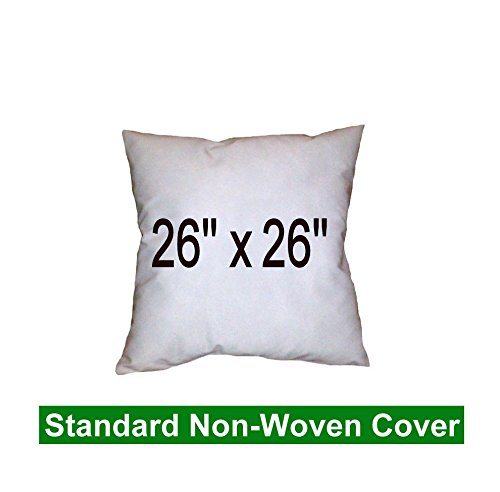 Pillow Inserts 26 x 26 Square -100% polyester fibre filled Hometex