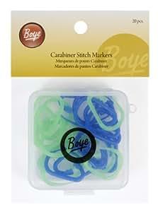 Boye Jumbo Stitch Markers, Set of 35