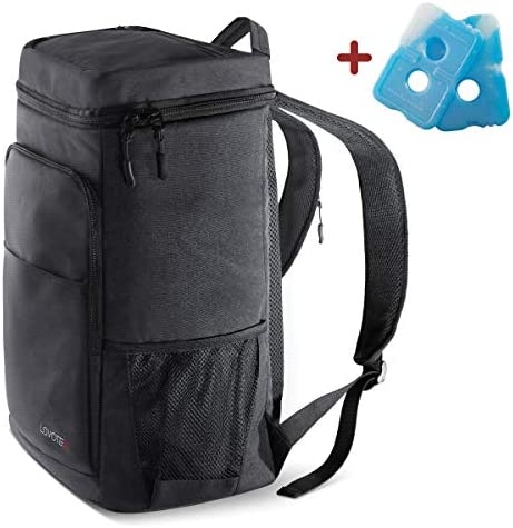 Backpack Cooler Insulated Cooler Backpack Coolers Insulated Leak Proof, Backpack Lunch Bag For Men and Women, Camping, Picnics, Hiking, Insulated Backpack Fits 30 Cans