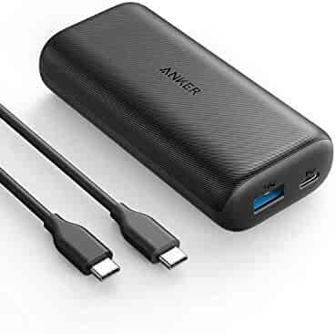 Anker PowerCore 10000 PD, 10000mAh Portable Charger USB-C Power Delivery (18W) Power Bank for iPhone 11/11 Pro / 11 Pro Max / 8 / X/XS, Samsung S10, Pixel 3 / 3XL, iPad Pro 2018, and More