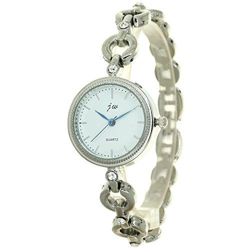 Lady Women's Watch Japan Quartz Fashion Luxury Jewelry Hours Mothers Dress Circle Crystal Bracelet Brass Rhinestone Girl Gift