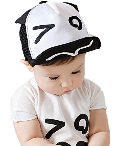 Baby Visor Cap Kids Children Mesh Baseball Cap peaked cap Eyes Style Infant Boy Girl Hip Hop Sun Hats baby boy accessories Black by BBO