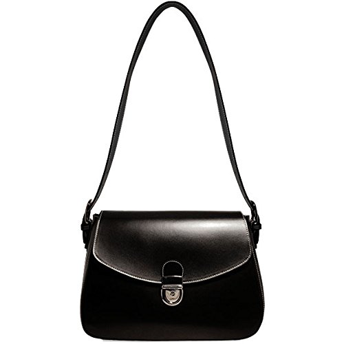 The Milano Collection Flapover Handbag