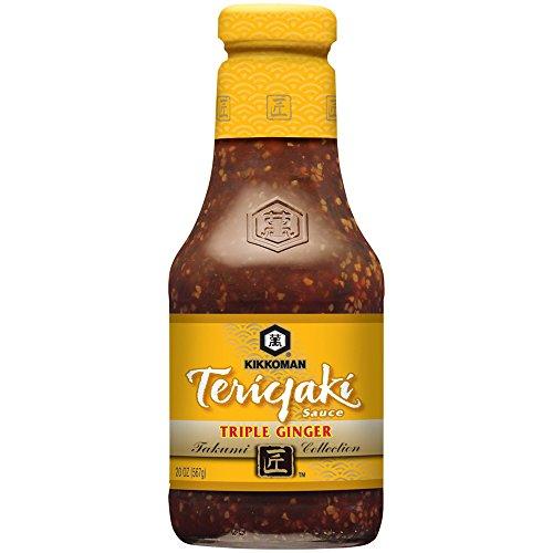 - Kikkoman Teriyaki Triple Ginger Sauce, 19.5 Ounce (Pack of 6)