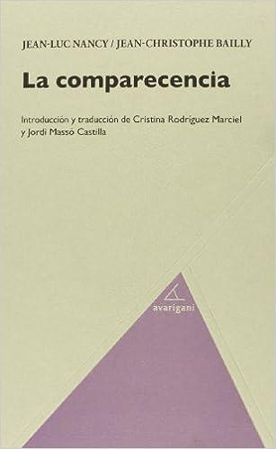 Descargar gratis La Comparecencia (filosofia (avarigani)) PDF