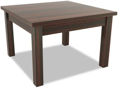 Amazon.com : Alera Valencia Series Occasional Table, Square ...