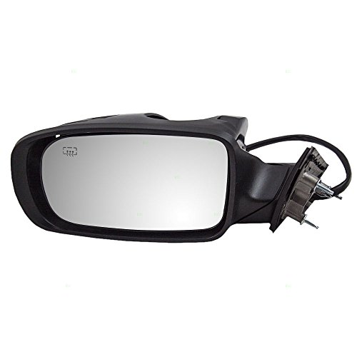Drivers Power Side View Mirror Heated Ready-to-Paint Replacement for Dodge 1LD59AXRAH for sale