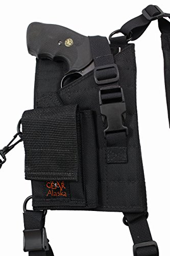 "Man Gear Alaska Ultimate Chest Holster - 4"" revolver w/cartridge loops & pouch"