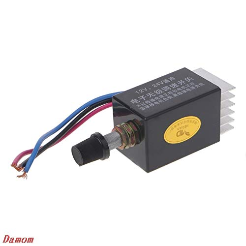Motor Speed Controller Switch Truck Fan Heater Control Defroster DC 12V 24V Damom