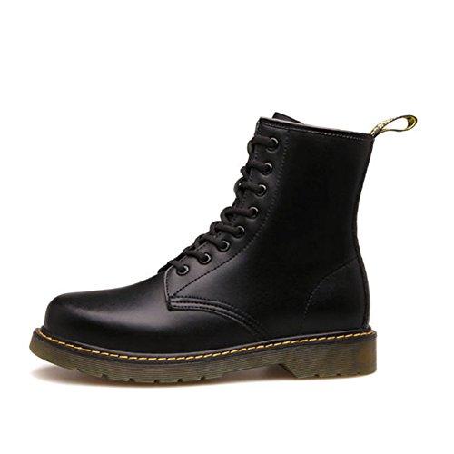 Herren freizeitschuhe kleid bergsteigen herbst outdoor oxford-schuhe stiefel rutschen schwarzbraun-C Fußlänge=42EU