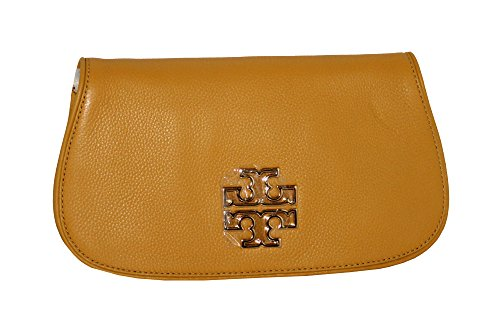 handbag 39055 Clutch Britten Chain Crossbody Solarium Leather Women's Burch Tory wxvH0aa