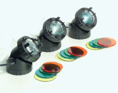 LED Strahler 3er Set