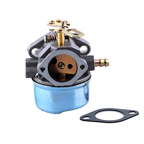 HIPA Carburetor Carb with Mounting Gasket for Tecumseh 640349 640052 640054 8hp 9hp 10hp HMSK80 HMSK85 HMSK90 HMSK100 HMSK105 LH318SA Snow Blower King Engine