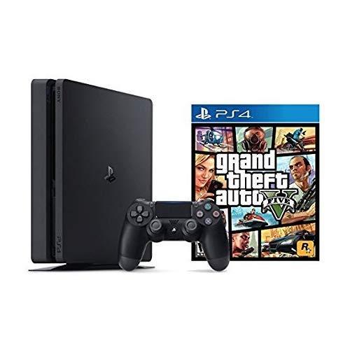 PlayStation 4 Slim 1TB Console Grand Theft Auto V Bundle (2 - Artículos)