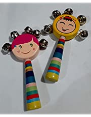 Kids colorful Hand bell Rattle