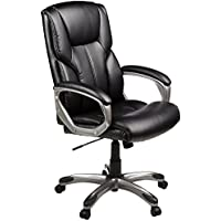AmazonBasics High-Back Executive Chair (Black)