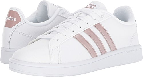 adidas Women's CF Advantage W, White/Vapour Grey/White, 11 M US by adidas