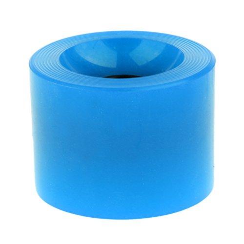 ピル必要とするテレビBaoblade Baoblaze スケートボード PUホイール ロングボード クルーザーホイール 全6色 - ブルー