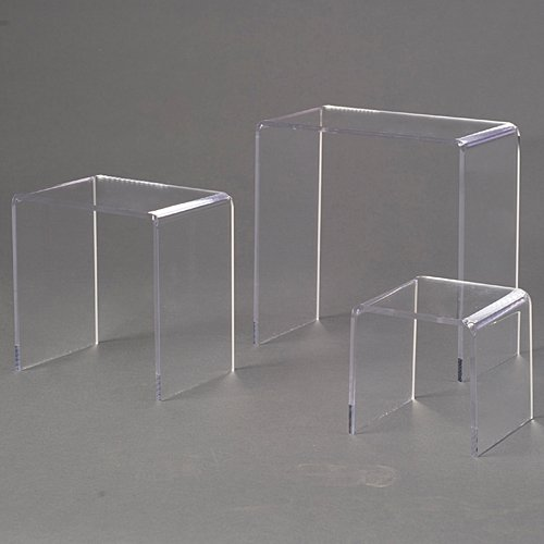 Shindigz Acrylic Table Riser Centerpieces, Pack of 3 by Shindigz