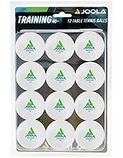 JOOLA Tafeltennisballen TRAINING - 40+ mm diameter premium tafeltennis-trainingsballen - 12-delige blisterverpakking