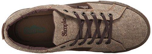 Sneaker Moda Uomo Semplice Waveoff Marrone / Canapa