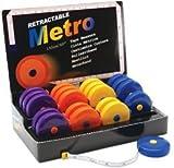 Tacony Retractable Metro Tape Measure 20 Piece Display-60 253