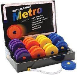 Tacony Retractable Metro Tape Measure 20 Piece Display-60 inch 253 by Tacony