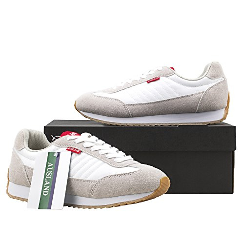 Basses Blanc M7555 de Mode amp; Sneakers Femme Baskets Chaussures Unisexe Mixte Adulte Homme Sport Shenji wIx6OFW