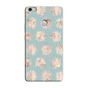 Cover It Up - Silver Star Pale Blue Mi Max Hard Case