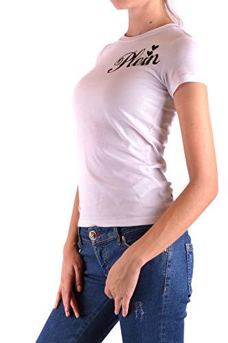 Algodon Plein shirt Ezbc018019 T Philipp Mujer Blanco xWZ6UOxqwT
