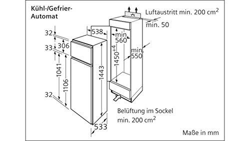 Siemens Einbau Kuhlschrank Ki 24v470 Amazon De Elektro Grossgerate