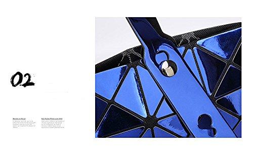 Mujeres Geometría Del De De Plegables 2 Llanura Bolso 3 Del Hombro Los Mensajero Espejo Bolsos Lentejuelas Colorswomenmirror Caramelo Bolso d7xPdX0