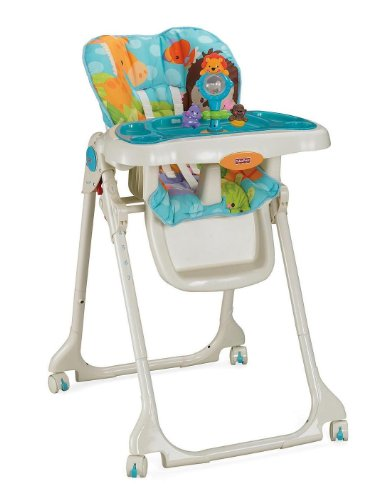 Fisher-Price Precious Planet Sky Blue High Chair by Fisher-Price